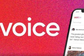 Block.One的区块链社交媒体平台语音将在下个月提前发布